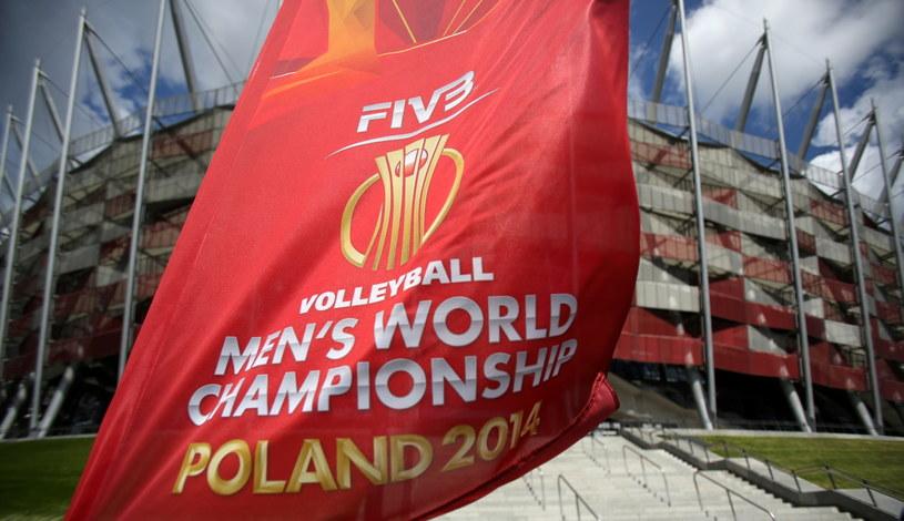 W sobotę na Stadionie Narodowym rozpoczną się siatkarskie MŚ /Leszek Szymański /PAP