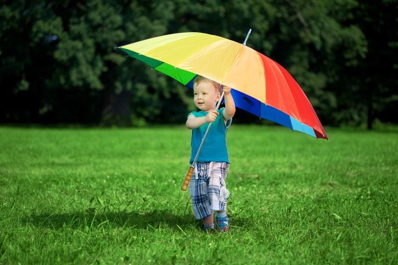 W sobotę przelotne opady deszczu prognozujemy prawie w całej Polsce /123RF/PICSEL