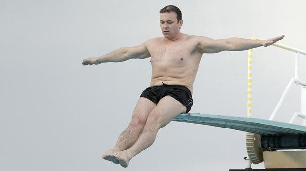 """W sobotę Radosław Liszewski weźmie udział w ćwierćfinale """"Celebrity Splash"""" /AKPA"""