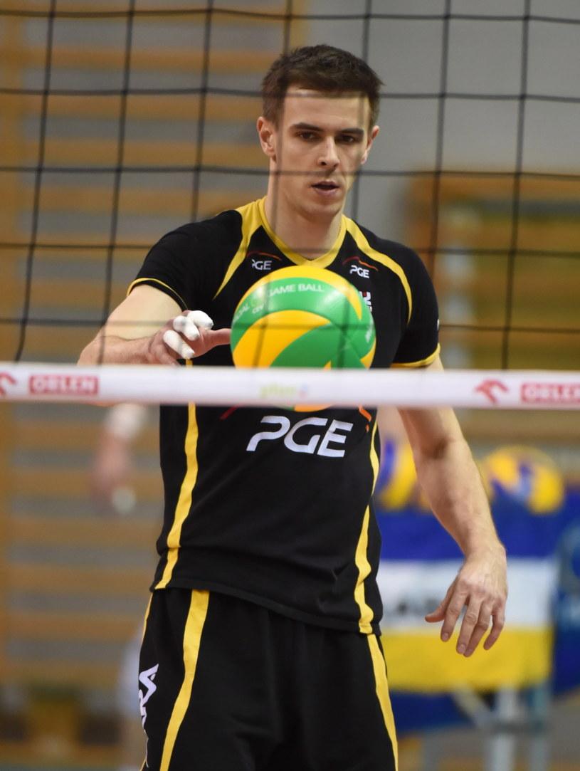 W sobotnim półfinale wiele będzie zależało od dyspozycji Mariusza Wlazłego /Fot. Grzegorz Michałowski /PAP