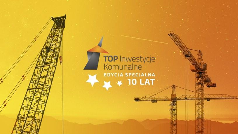 W specjalnej, jubileuszowej edycji Top Inwestycji Komunalnych, wyłoniono 10 laureatów. /materiały prasowe