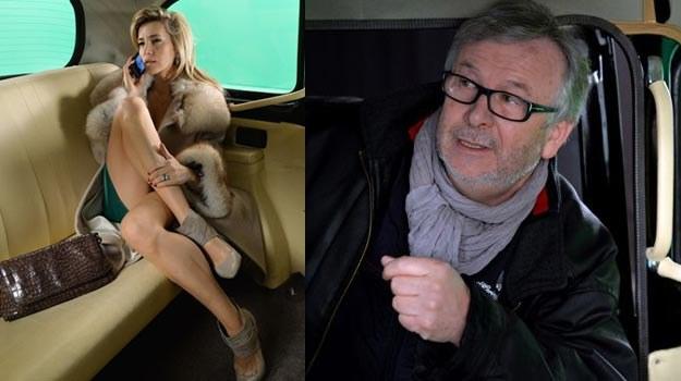 W spektaklu Krzysztofa Langa (P) Kamila Baar (L) zostanie porwana przez Karolaka i Woronowicza. /TVP1