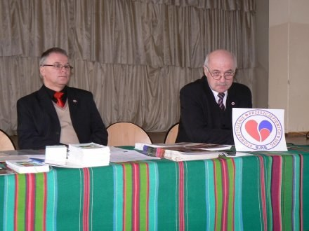 W spotkaniu brał udział m.in. wiceprezes Stowarzysznia Przeszczepionych Serc Andrzej Papacz /Nowy Łowiczanin