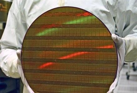 W średnicy ludzkiego włosa można zmieścić ponad 2000 tranzystorów 45-nanometrowych. /materiały prasowe