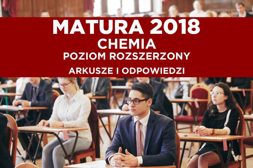 W środę maturzyści piszą egzamin z chemii /FILIP KOWALKOWSKI/POLSKA PRESS /East News