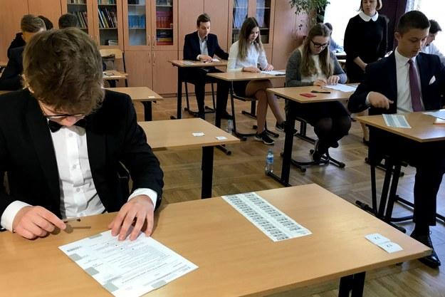 W środę rozpoczął się egzamin gimnazjalny 2018. Tak było w szkole podstawowej nr 55 w Lublinie. /RMF FM