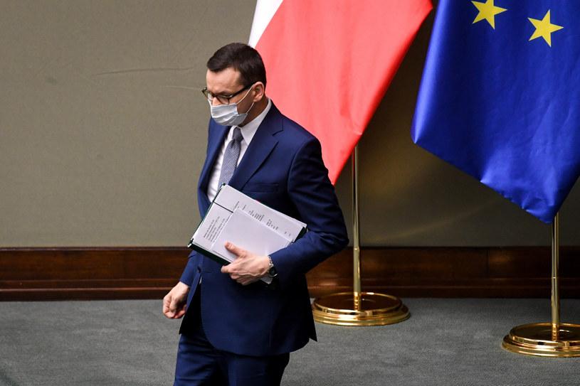 W środę szczegóły dotyczące odmrażania kolejnych branż. Na zdjęciu premier Mateusz Morawiecki / Jacek Domiński /Reporter