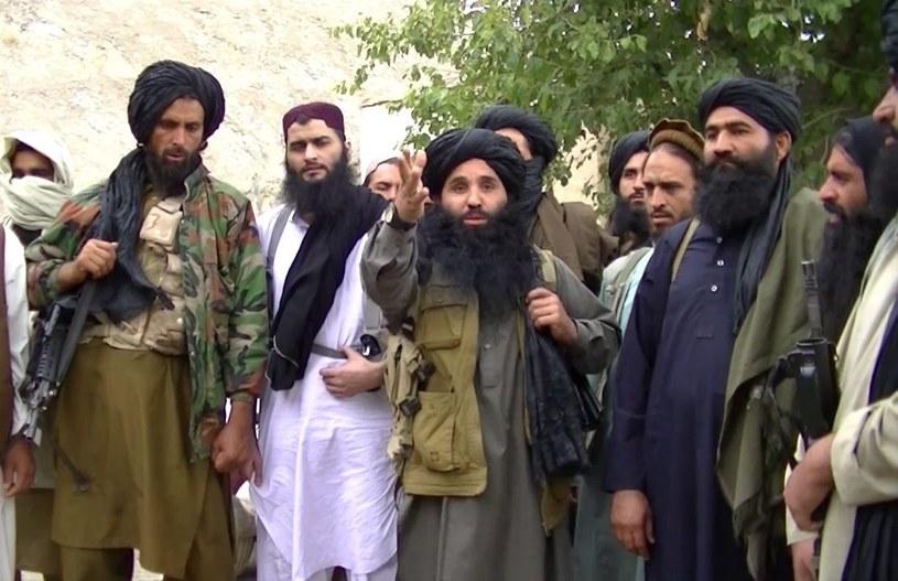 W środku Mullah Fazlullah - przywódca pakistańskich talibów /PAP/EPA