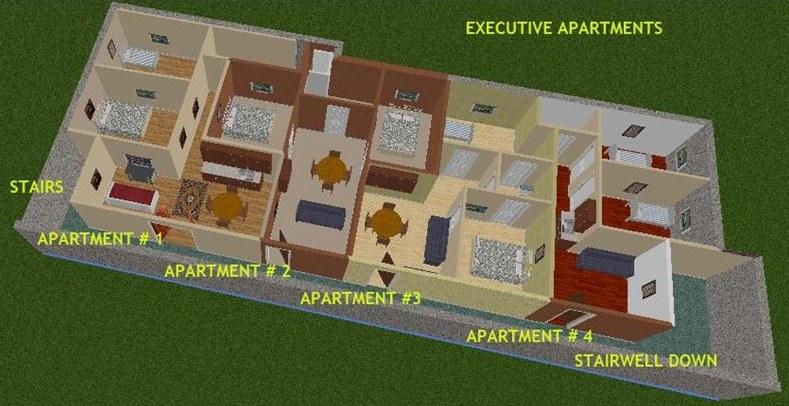 W środku znajdziemy wszystkie obowiązkowe pomieszczenia Fot. harrynorman.com /materiały promocyjne