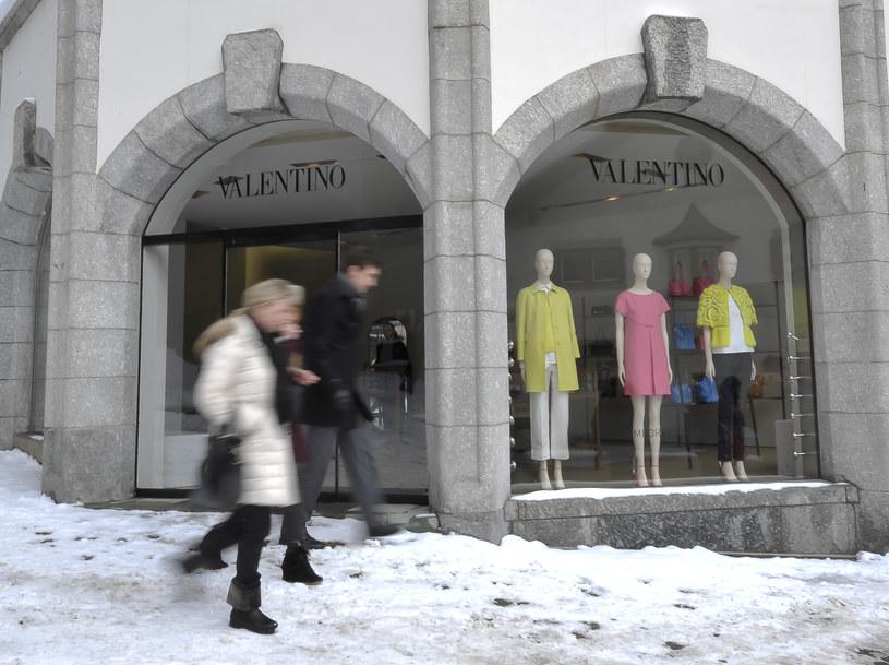 W St. Moritz  nie brakuje drogich sklepów /AFP