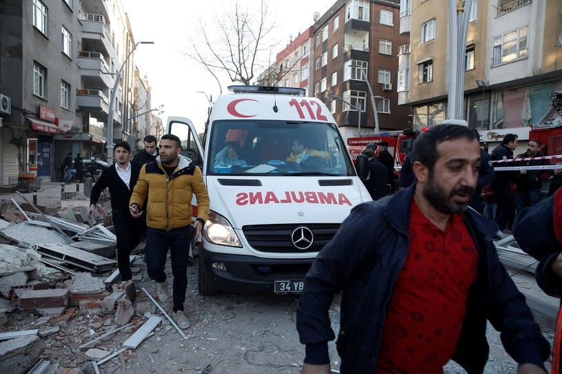 W Stambule zawalił się budynek. Dziecko wśród ofiar /Getty Images