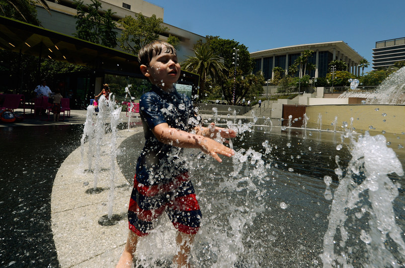 W Stanach odnotowano bardzo wysokie temperatury /AFP
