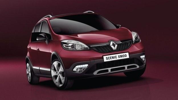 W standardowej konfiguracji siedzeń Scenic XMOD zabiera na pokład 5 osób i 555 l bagażu. /Renault