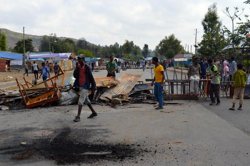 W starciach przeciwników rządu z policją w Etiopii zginęło 7 osób /AFP