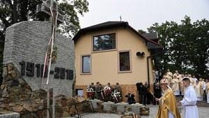 W Strachocinie odsłonięto pomnik z okazji 100. rocznicy odzyskania niepodległości