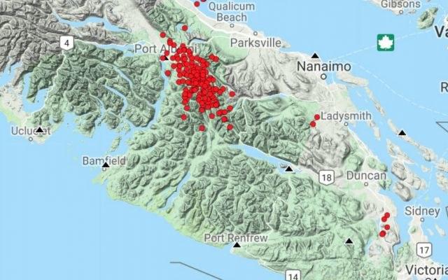 W strefie subdukcji Cascadia zanotowano ostatnio bardzo duży wzrost aktywności sejsmicznej /materiały prasowe