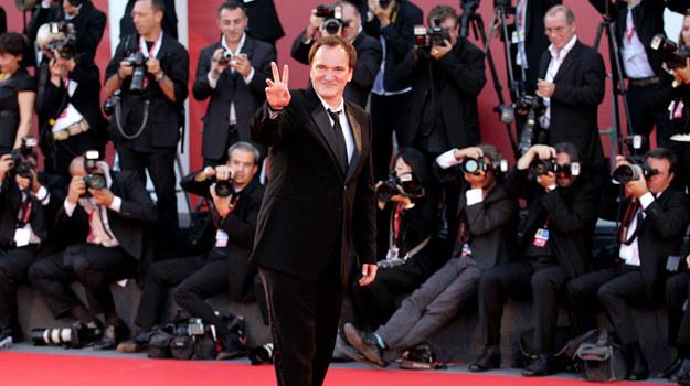 W stronę Quentina Tarantino zwrócone są w Wenecji wszystkie oczy / fot. Andreas Rentz /Getty Images/Flash Press Media