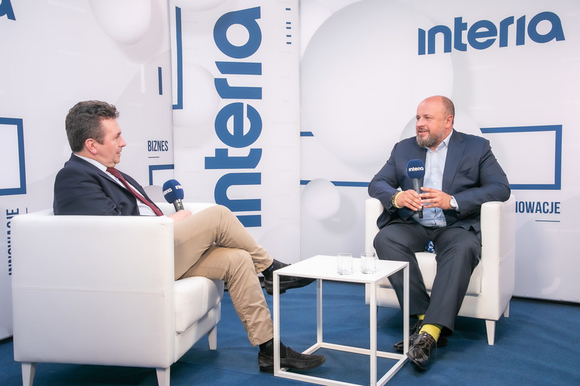 W studiu Interii Krzysztof Inglot, prezes Personnel Service /INTERIA.TV /INTERIA.PL