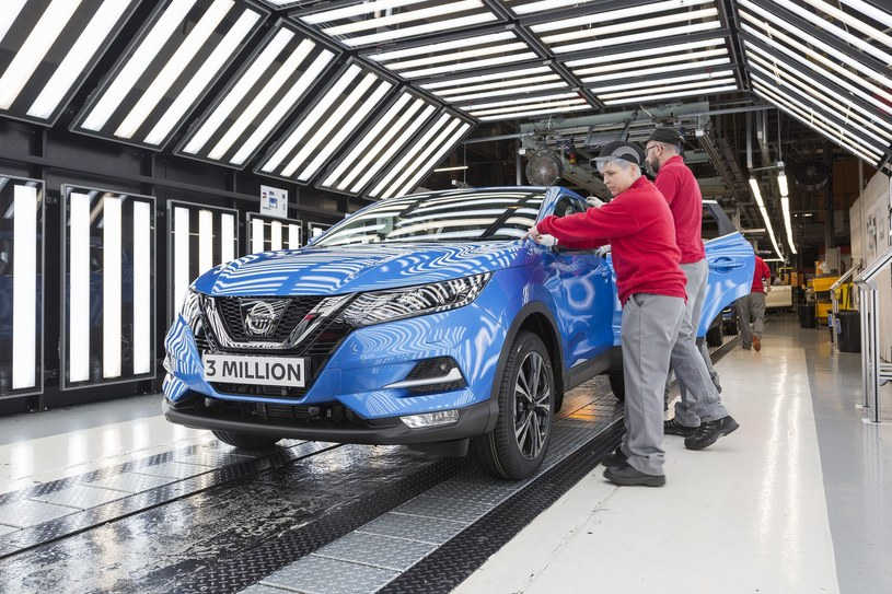 W Sunderland powstało już 3 mln egzemplarzy Nissana Qashqai /