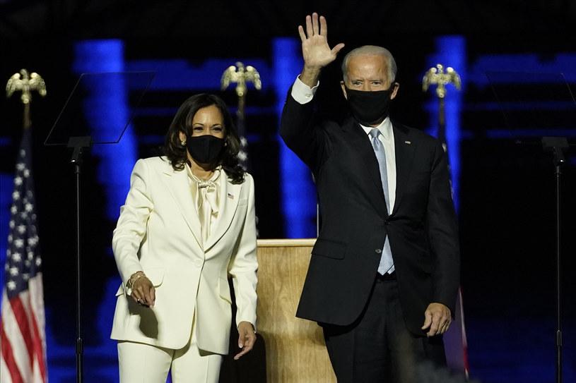 W swoim przemówieniu Harris oddała hołd sufrażystkom i wszystkim osobom zaangażowanym w walkę o prawa kobiet /FR171450 AP/Associated Press /East News