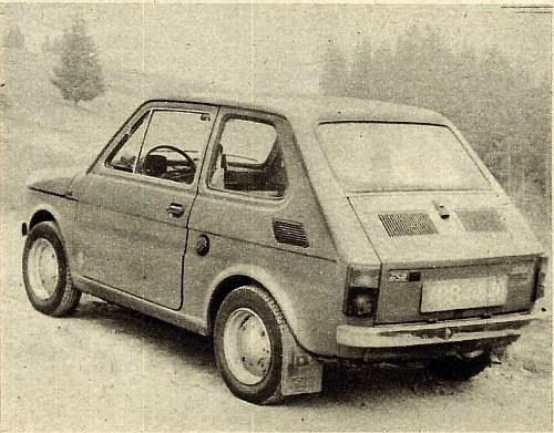 W sylwetce tylnej części pojazdu zwraca uwagę wysoko umieszczona szyba. Oboje drzwi, korek wlewu paliwa oraz pokrywa silnika zamykane są na klucze. /Motor