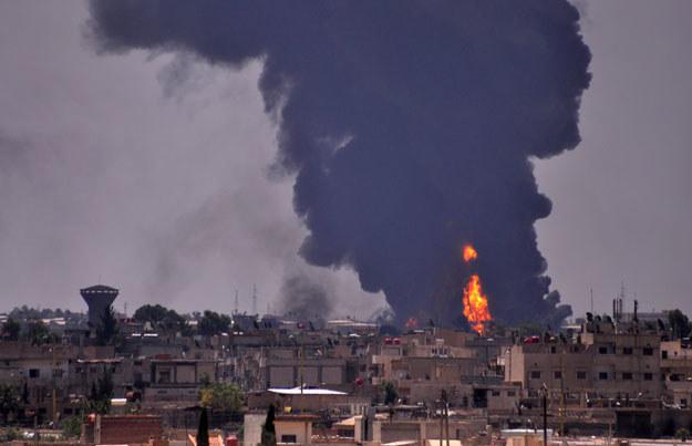 W Syrii i Iraku trwa wojna fot. Delil Souleiman /AFP