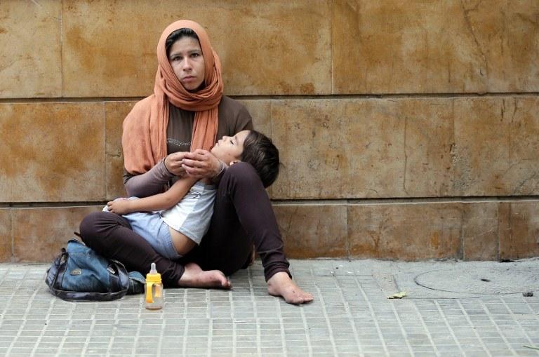 W Syrii sytuacja jest dramatyczna /AFP