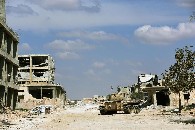 W Syrii toczą się walki między reżimem a rebeliantami. /PUSTE /East News