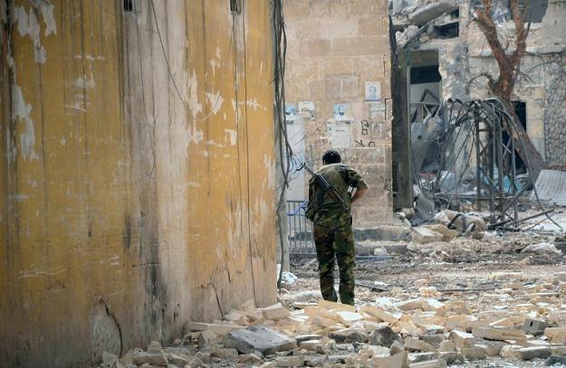 W Syrii trwają ciężkie walki /AFP