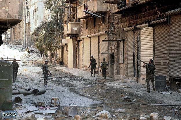 W Syrii trwają krwawe walki /PAP/EPA