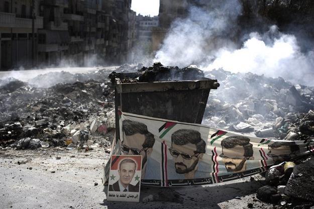 W Syrii trwają krwawe walki /AFP