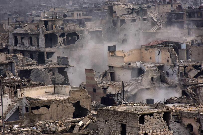 W Syrii wciąż wybuchają bomby /AFP