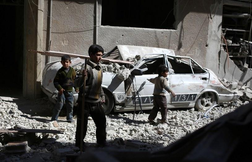 W Syrii wiele miast przypomina gruzowiska /AFP