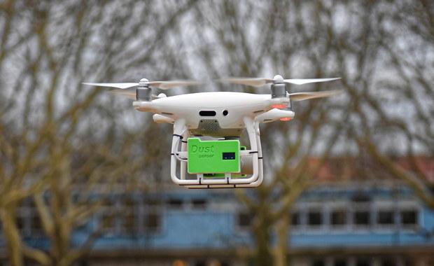 W Szczecinie drony będą monitorować jakość powietrza