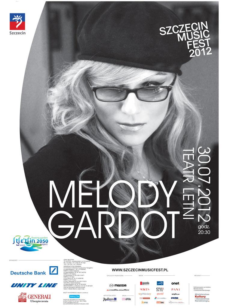 W Szczecinie Melody Gardot wystapi 30 lipca /materiały prasowe
