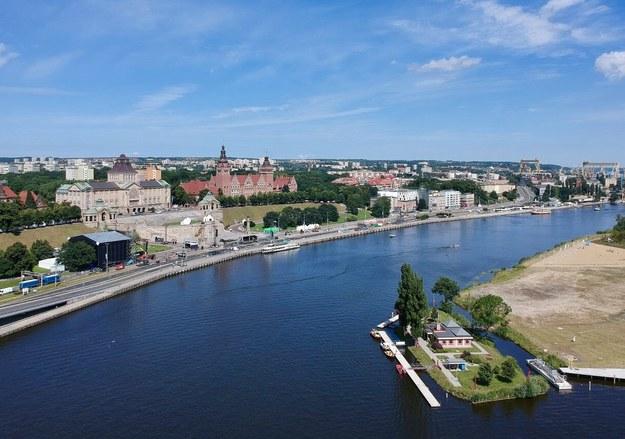 W Szczecinie testowane są syreny alarmowe /Paweł Żuchowski /Archiwum RMF FM