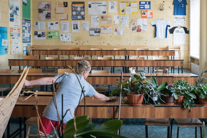 W szkołach przygotowania idą pełną parą /Tadeusz Koniarz/REPORTER /East News