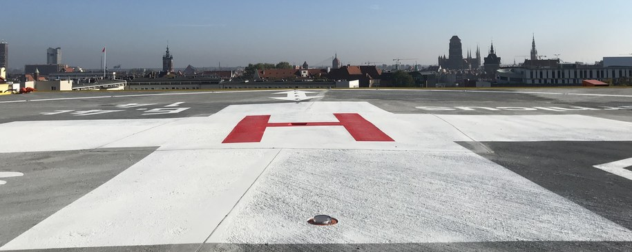 W szpitalu Copernicus w Gdańsku , uruchomiono lądowisko dla helikopterów Lotniczego Pogotowia Ratunkowego /Kuba Kaługa /RMF FM