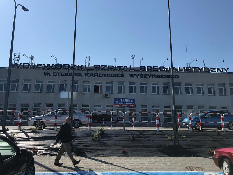 W szpitalu na zwolnieniu lekarskim przebywają 73 pielęgniarki /Krzysztof Kot /Krzysztof Kot, RMF FM