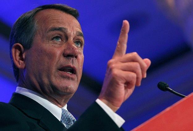 W szufladzie przywódcy większości Kongresu, Johna Boehnera, znajduje się projekt likwidacji CIT /AFP