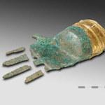 W Szwajcarii znaleziono rękę z brązu ze złotymi palcami