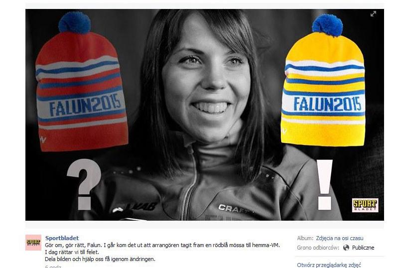 W Szwecji trwa ogólnonarodowa dyskusja nad czapką / fot Facebook /INTERIA.PL