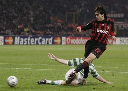 W taki sposób Kaka zapewnił awans Milanowi /AFP