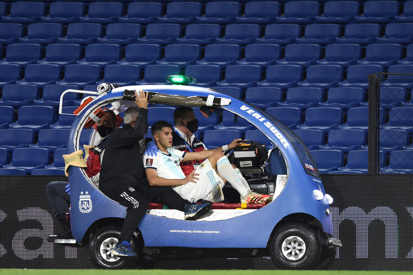 W taki sposób Palacios opuścił boisko / Marcelo Endelli /Getty Images
