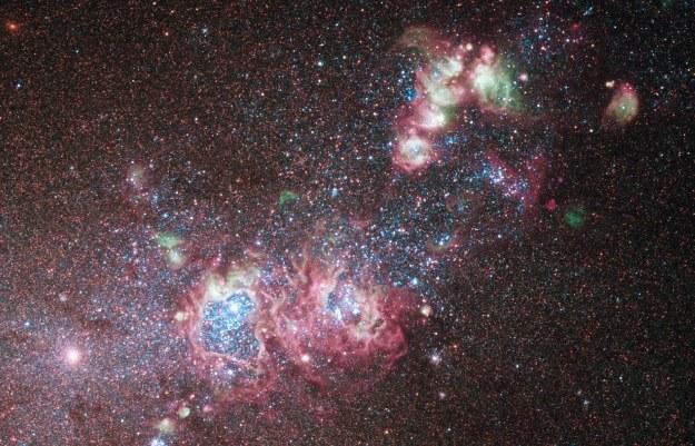W takich oblokach rodzą się gwiazdy /NASA
