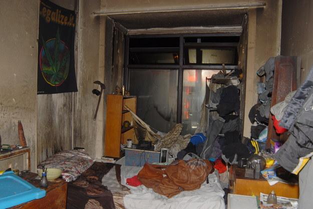W takich warunkach mieszkali Polacy /WEST MIDLANDS POLICE / HANDOUT /PAP/EPA