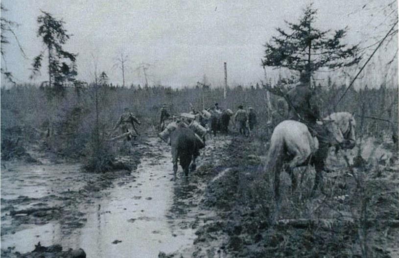 W takich warunkach walczono na wiosnę pod Wołochowem /Bundesarchiv /INTERIA.PL/materiały prasowe
