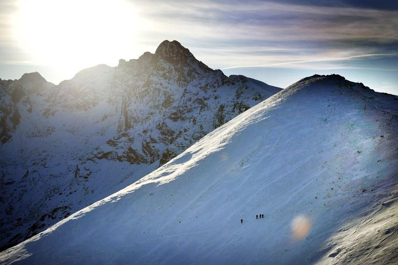 W Tatrach już zima... /Adrian Gładecki /Reporter