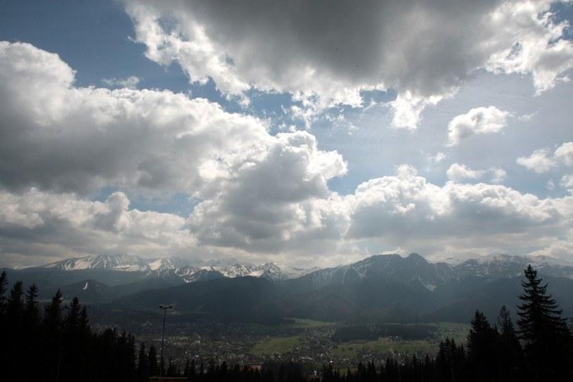 W Tatrach ma prószyć śnieg /Kuba Suszek /Reporter