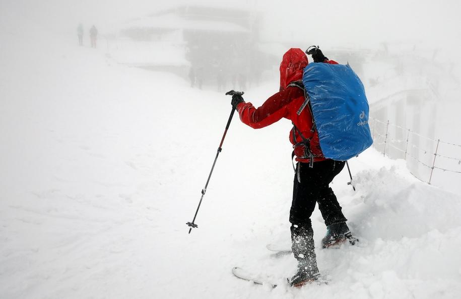 W Tatrach obowiązuje drugi stopień zagrożenia lawinowego / Grzegorz Momot    /PAP